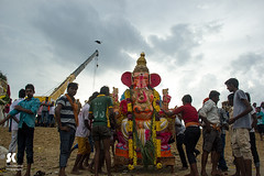 "Lord Ganesha Immersion Festival, Chennai • <a style=""font-size:0.8em;"" href=""http://www.flickr.com/photos/86056586@N00/15174564141/"" target=""_blank"">View on Flickr</a>"