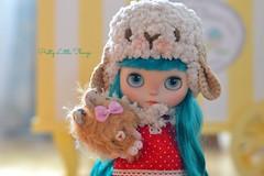 Odile and her Teddy Bear