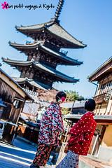 Location de Kimono chez Bebe-ya (  ) (Voyage  Kyoto) Tags: travel kyoto antique promenade  yukata   kimono gion kansai  japon visite    yasaka     traditionnal  costumetraditionnel  sanctuaireyasaka templekenninji guidekyoto bebeya bebeyalocationdekimono guidetemplekiyomizudera