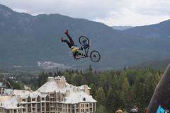 Crankworx Whistler 2013 (ParkerTownes) Tags: mountain cam best superman fox biking trick crankworx backflip mccaul 2013 seatgrab