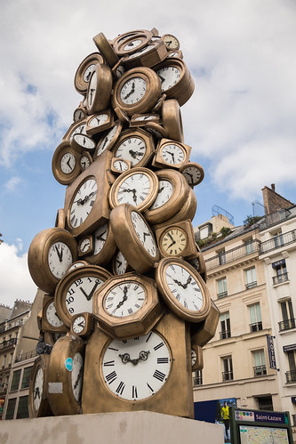 2014/09/14 15h30 Arman, «L'heure de tous» (1985)
