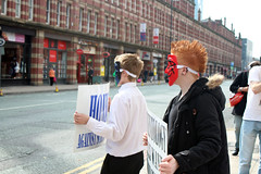 Anonymous Manchester Scientology Protest September 2014 (strobe-) Tags: manchester protest scientology cult activism anonymous protesters churchofscientology deansgate projectchanology chanology scientologymanchester anonymousuk anonymousmanchester