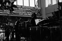 Edgardo Cintron and the Tiempo Noventa Orchestra Market Street East Philadelphis B&W Dec 1995 034 (photographer695) Tags: street bw market dec east orchestra 1995 tiempo noventa 034 cintron edgardo philadelphis