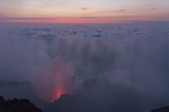 Primo pennacchio di lava