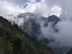 The Strangest Mood. (bookhouse boy) Tags: mountains alps berge alpen hallintirol halltal hallerzunterkopf 28juni2016