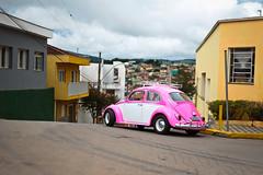 Carnaval - Bueno Brandão (allansribeiro) Tags: carnaval bueno brandão minas gerais mg brasil brazil américa america latina latin color fusca rosa rose beatle vw