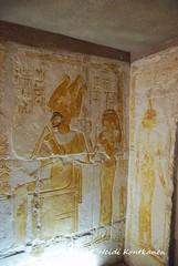 Osiris and Nephtys (konde) Tags: mayaandmerit tomb 18thdynasty mayaandmeryt newkingdom saqqara ancient goddess nephtys osiris art hieroglyphs