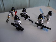 Wrona Special Forces Squad (Śląski Hutas) Tags: lego bricks moc minifigure guns polska poland scifi futuristic