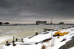 Wintertime (Susanne Hjertø Wiik) Tags: köpmannebro långö naturlandskapnaturfenomen steder vær dramatiskhimmel landskap lugnet mellerud skyer sverige vinter vänern årstid