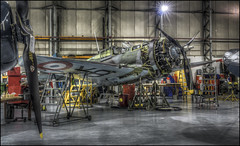 DUXFORD (2017) 17 (Darwinsgift) Tags: duxford imperial war museum aviation aircraft hangar hdr tourism cambridgeshire photomatix voigtlander 58mm f14 nokton sl2 nikon d810 multiple exposure art