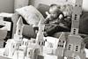Book break (grilljam) Tags: seamus 4yrs winter ewan 7yrs building afavoritepasttimehere castleblocks duplo reading leapreader