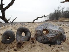 hag stones (Steph-nine) Tags: covehithe coast suffolk protection folklore hagstones