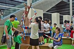 Pick-up Sticks (chooyutshing) Tags: pickupsticks interactivegames nationalmuseumofsingapore masakmasakmychildhood playnms velcrosticks concourselevel1
