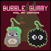 Totoro (Bubble Gummy pixel art) Tags: art beads earring totoro pixel pixelart hama perler studioghibli hayaomiyazaki pendientes 8bits myneighbortotoro hamabeads mivecinototoro perlerbeads beadsprite bubblegummy bubblegummypixelart totorohamabeads totoroperlerbeads