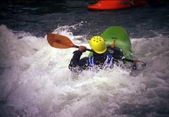 Freestyler (threepinner) Tags: japan canon hokkaido kayak iso400 canoe   positive hokkaidou mikasa f35 selfdeveloped   70210mm  av1 northernjapan tefnon   ikushunbetsuriver