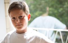 #72 (ekidreki) Tags: boy portrait white reflection guy project 50mm nikon child little brother reflect 365 nikkor 50 catchy d610