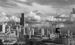 June Skyline (rjseg1) Tags: chicago skyline clouds sears