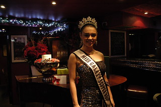 Christmas lights switch-on with Miss Galaxy & Miss Teen Galaxy