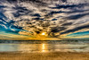 Evening at Blokhus beach (mnielsen9000) Tags: sunset seascape hdr blokhus d600 nikon1635