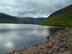 Tranquil water (seanmhair Anne) Tags: scotland glenesk lochlee
