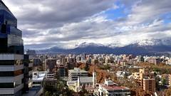 Santiago de Chile after Rain.. (a l o b o s) Tags: chile santiago snow clouds de landscape los area andes metropolitana cordillera providencia