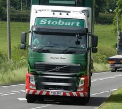 PX61BKZ H4878 Eddie Stobart Volvo 'Scarlett Rose' (graham19492000) Tags: volvo eddie stobart eddiestobart scarlettrose h4878 px61bkz
