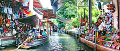 20140524 (Zzhiqin) Tags: travel canon market floating thai      365project