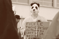 Panda (Mathis Bgt) Tags: morning school last high panda day