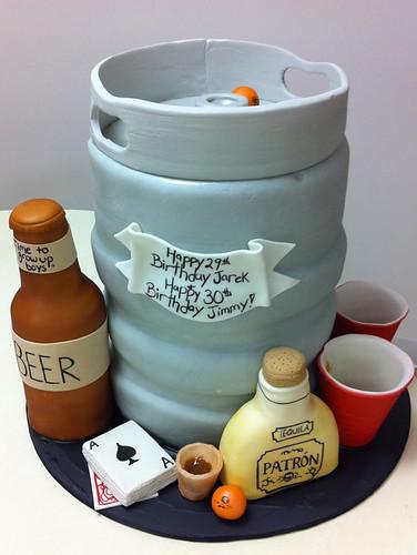 Keg Cake