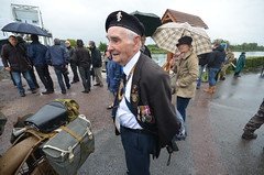 70th anniversary of D-Day - Pegasus Bridge (Dirk Bruin) Tags: 6 france june juni arms mechanical brothers para anniversary band royal return overlord electrical normandy dday 70th 6th 1944 veterans engineers vets 2014 herdenking normandi
