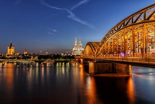 Cologne cityscape II