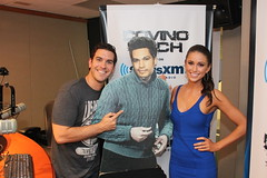 Miss USA 2014 Nia Sanchez on the Covino & Rich Show (covinoandrich) Tags: show usa radio satellite nevada rich nia miss sanchez 2014 siriusxm covino