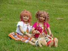 Sanrike und Tivi ... (Kindergartenkinder) Tags: dolls schloss annette tivi lembeck himstedt kindergartenkinder sanrike