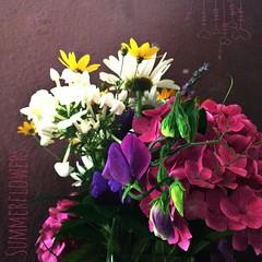 Summerflowers.  #summer #flowers #enjoy #sun #life