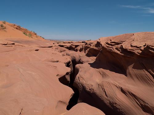 Blick auf den Lower Antelope Canyon