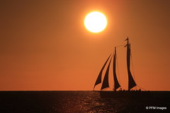 Key West (pandt) Tags: sunset sailboat keywest