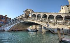 Rialto Bridge Venice (mschroeter140) Tags: italien bridge venice summer italy roma night canal nikon italia dusk sommer sigma grand ponte di gondola 1020mm venezia rialto gondolas 2012 maranello d7000