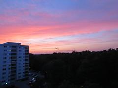 0704204 Nacht (golli43) Tags: sunset sun streets rain sunrise heaven himmel wolken explore juli neighbours sonne nachbarn homesweethome regen spaziergänge streetlive