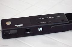Kodak Ektra 12-EF (01) (Hans Kerensky) Tags: camera film focus kodak 110 fixed pointshoot ektra 12ef anywhitefieldtagbyflickrsspamtagbot
