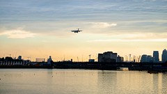 DSC02944 (Ian Tindale) Tags: cloud clouds cloudy cloudscape londoncityairport royalalbertdock lcy eglc hbiyr
