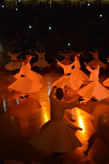 Whirling Dervishes in Konya (ancuansiar) Tags: turkey religious dance nikon spiritual orientexpress konya nikond3200 whirlingdervishes