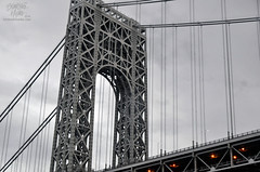 ASE14-19 (TrishaLyn) Tags: newyorkcity newyork bridges hudsonriver georgewashingtonbridge newyorkharbor yachtmanhattan classicharborlines