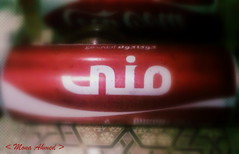 (M0NA AHMED) Tags: mona cocacola