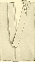 "Image from page 103 of ""The new dressmaker; with complete and fully illustrated instructions on every point connected with sewing, dressmaking and tailoring, from the actual stitches to the cutting, making, altering, mending, and cleaning of clothes for l"