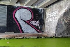 Robbo tribute (Simon Crubellier) Tags: city uk streetart london graffiti canal europe britain camden regentscanal tribute robbo londonist simoncrubellier dmctz60