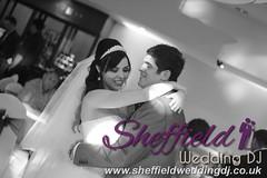 Andrew & Lauren McCambridge - Hellaby Hall - Black & White  Wedding Photos by Sheffield Wedding DJ 005