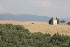 Chapel of the Madonna di Vitaleta (lreed76) Tags: sunset tuscany valdorcia cretesenese clayhills chapelofthemadonnadivitaleta