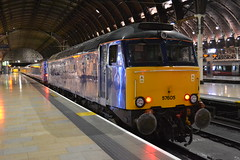 First Great Western 57605 Totnes Castle (Will Swain) Tags: uk travel england london castle station night train riviera britain great transport july first trains western paddington greater sleeper 27th penzance 2014 totnes 57605