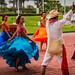 2014 - Mexico - Puerto Chiapas - Cruise Ship Entertainment.