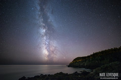 Milky Way over Quoddy Head State Park (Nate Levesque) Tags: nature night stars nightscape maine newengland nightsky stargazing milkyway lubec quoddyhead highquality boldcoast quoddyheadstatepark natelevesque